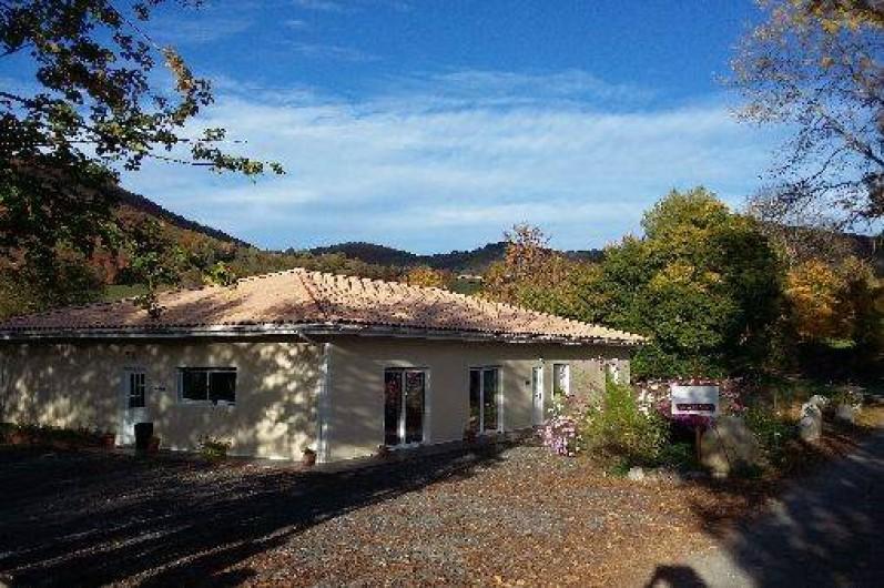 Location de vacances - Chambre d'hôtes à Anla - Du Coté De Lacoume