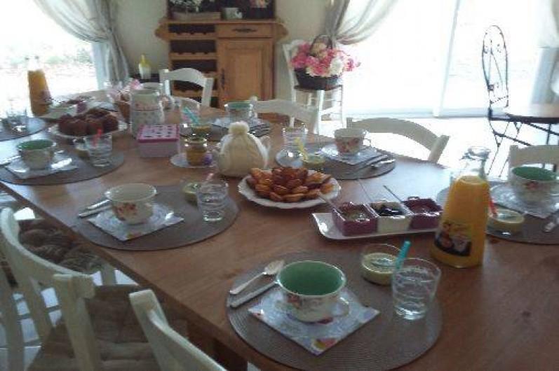 Location de vacances - Chambre d'hôtes à Anla - petit déjeuner