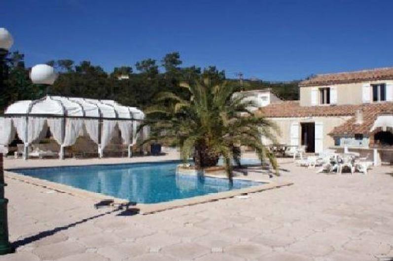 Location de vacances - Villa à Sainte-Anastasie-sur-Issole