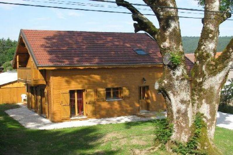 Location de vacances - Chalet à Charmoille