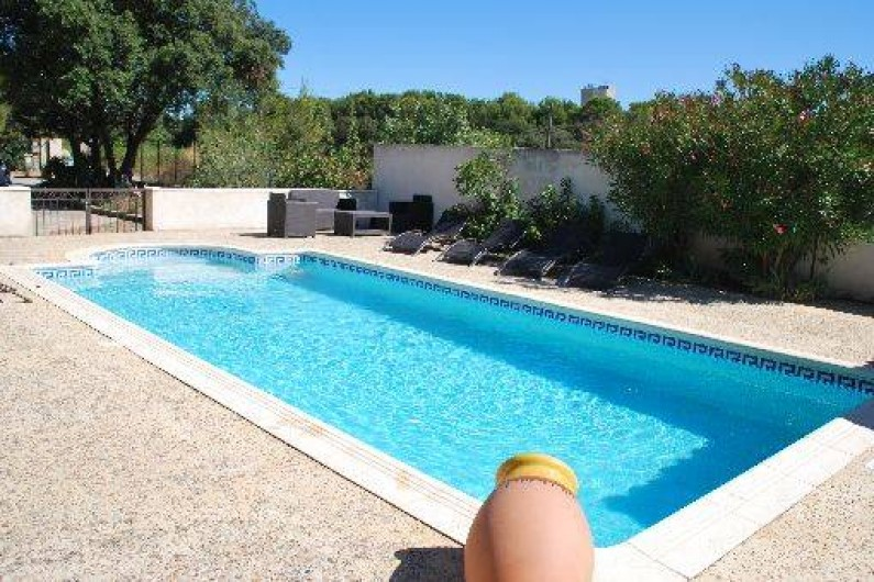 Location de vacances - Villa à Châteauneuf-de-Gadagne