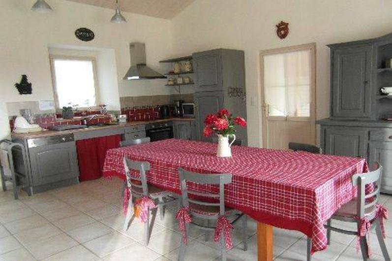 Location de vacances - Gîte à La Garnache - Cuisine /Salle à manger