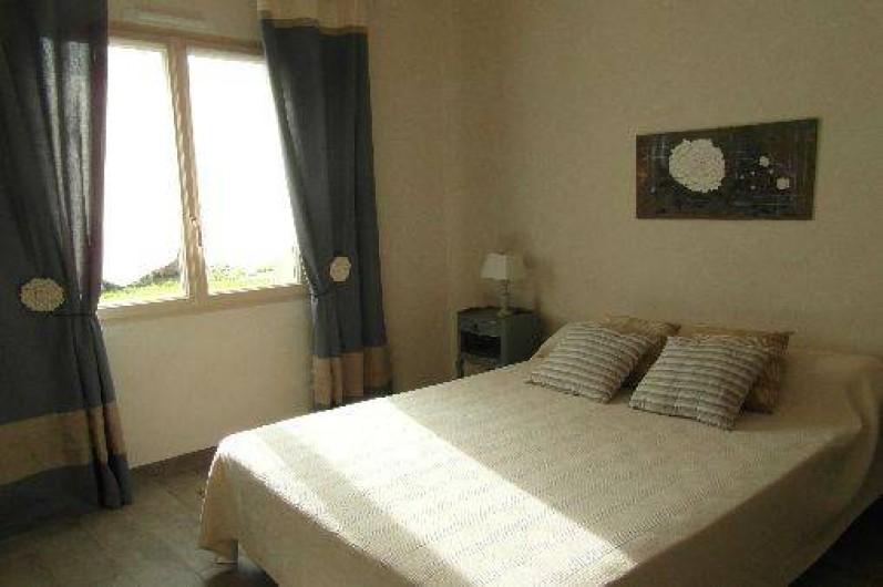 Location de vacances - Gîte à La Garnache - Chambre avec 1 lit de 140 adaptée au handicap