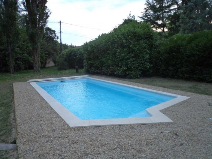 Location de vacances - Appartement à Saint-Ambroix - piscine