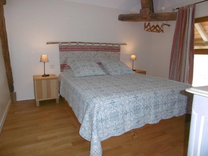 Location de vacances - Gîte à Pourlans - chambre 3 au 1er étage