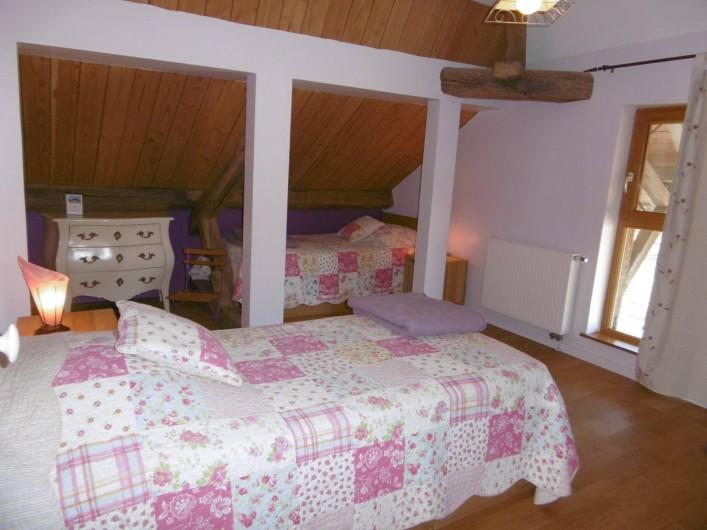 Location de vacances - Gîte à Pourlans - chambre 5 au 1er étage