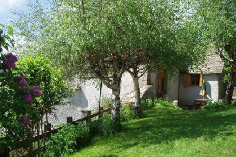 Location de vacances - Gîte à Saint-Pierre-de-Nogaret - Gîte La Grange 2 épis 65 m2  au calme en Terre d'Aubrac