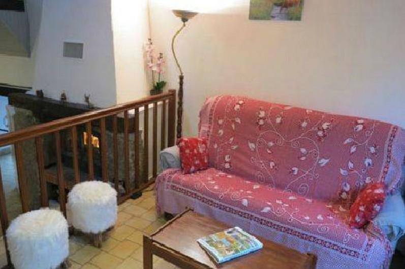 Location de vacances - Gîte à Saint-Pierre-de-Nogaret - Salon d'Aubrac