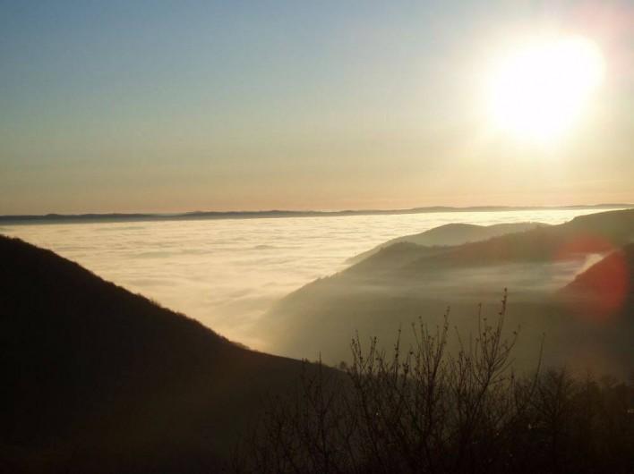 Location de vacances - Gîte à Saint-Pierre-de-Nogaret - Au dessus des nuages...