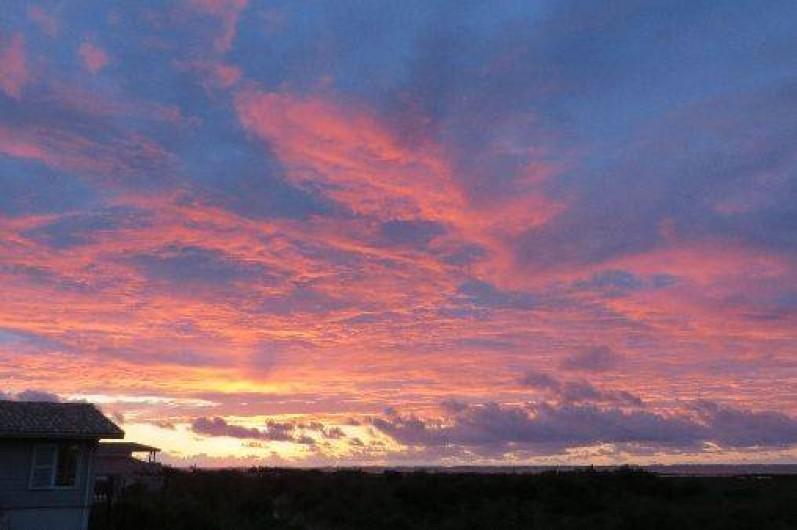 Location de vacances - Chambre d'hôtes à Gujan-Mestras - Un ciel et des couchers de soleil incomparables !