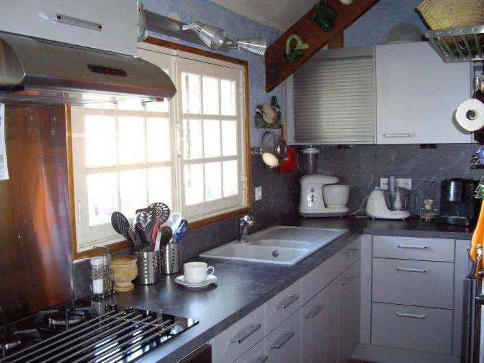 Location de vacances - Maison - Villa à Vitry-aux-Loges - Cuisine moderne