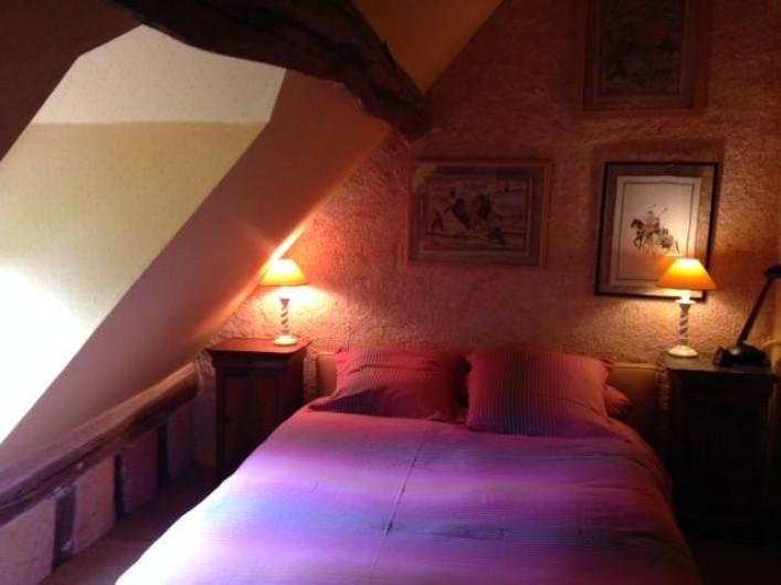Location de vacances - Maison - Villa à Vitry-aux-Loges - Chambre lit double 1er étage
