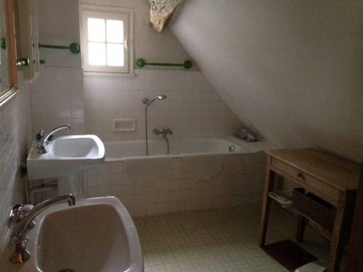 Location de vacances - Maison - Villa à Vitry-aux-Loges - Salle de bains Baignoire - WC