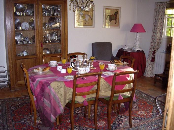 Location de vacances - Maison - Villa à Vitry-aux-Loges - Salle à manger