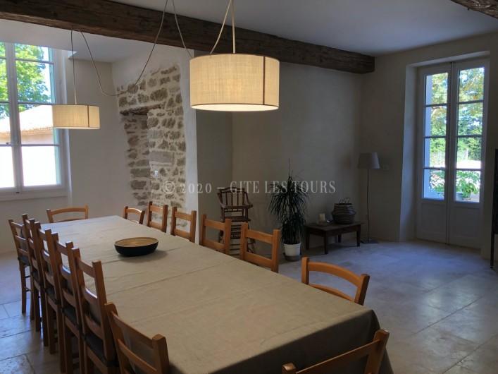 Location de vacances - Gîte à Sarrians - Salle à manger