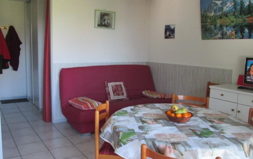 Location de vacances - Studio à Luz-Saint-Sauveur - Salon séjour