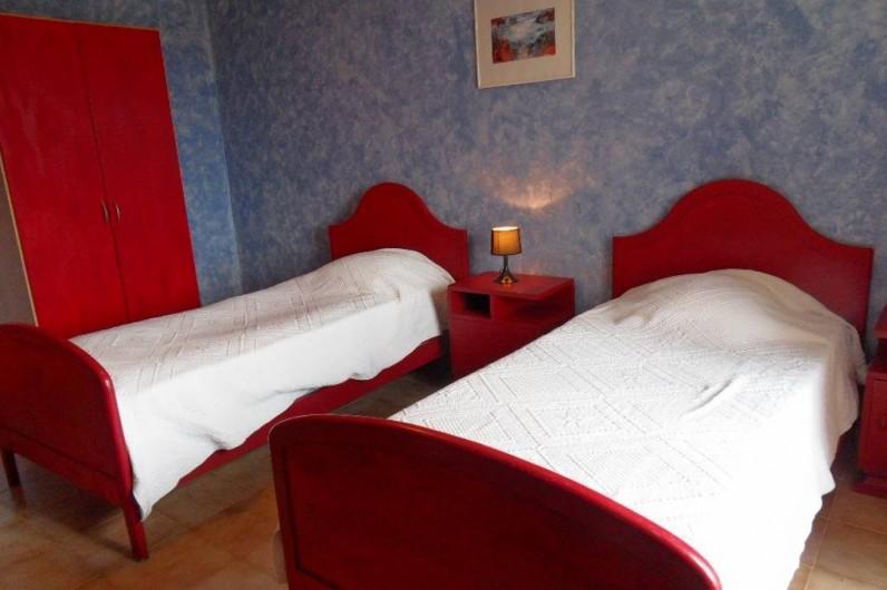 Location de vacances - Mas à L'Albère - la chambre bleue
