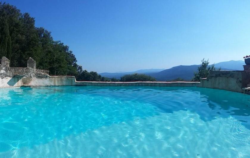 Location de vacances - Mas à L'Albère - la piscine