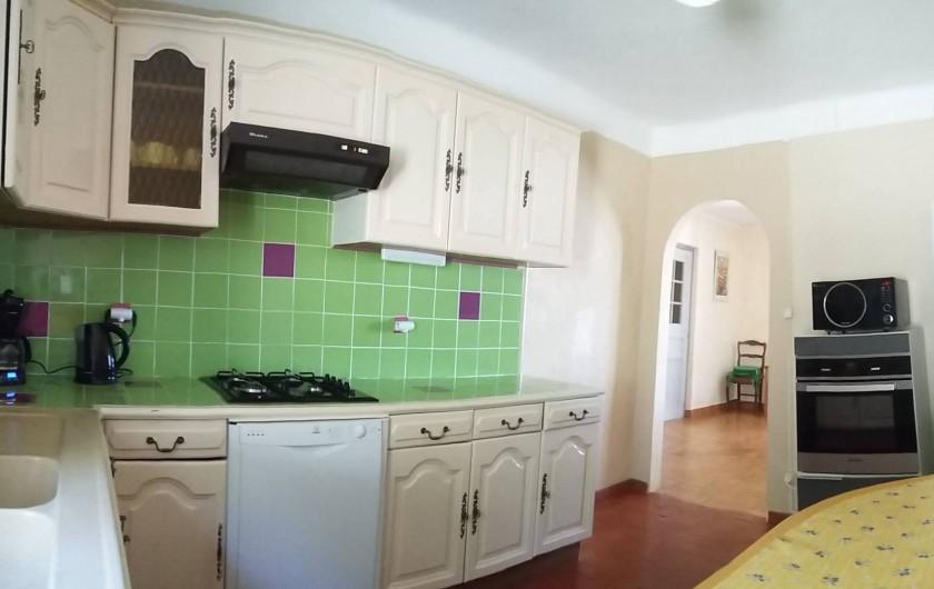 Location de vacances - Mas à L'Albère - la cuisine
