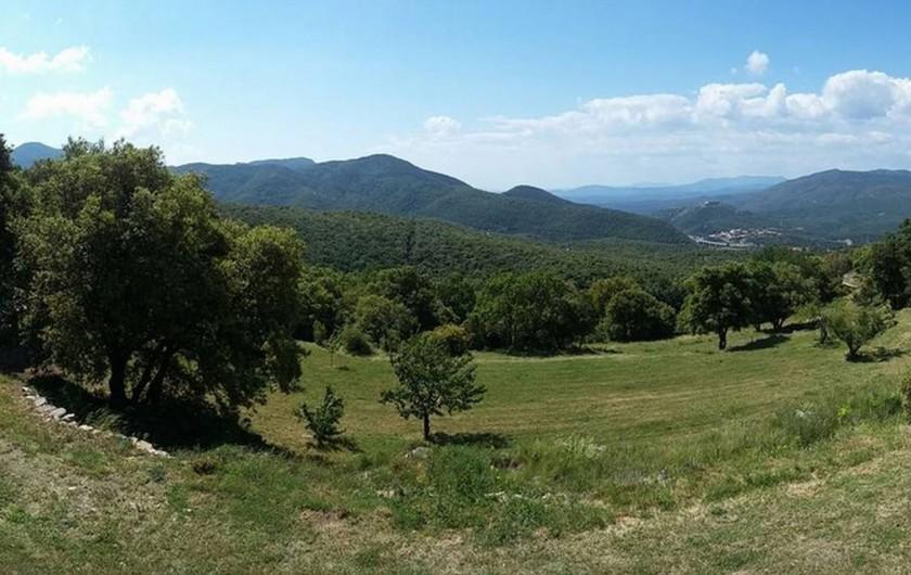 Location de vacances - Mas à L'Albère - la vue panoramique