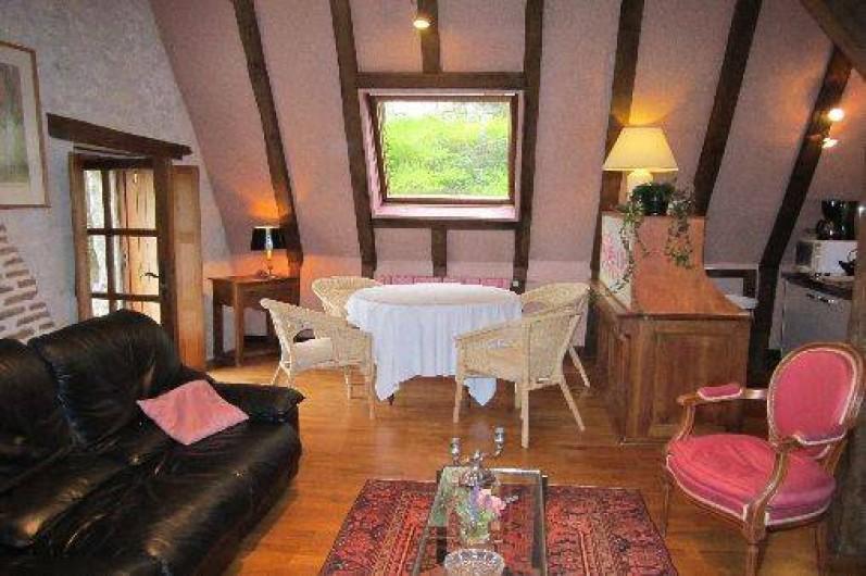 Location de vacances - Gîte à Montrichard - Grande salle ( salon , coin repas )