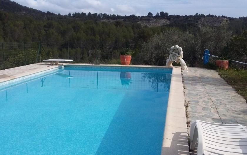 Location de vacances - Appartement à Solliès-Toucas