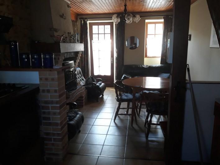 Location de vacances - Appartement à Sainte-Marie-du-Mont - séjour