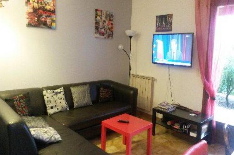 Location de vacances - Villa à Hyères - salon