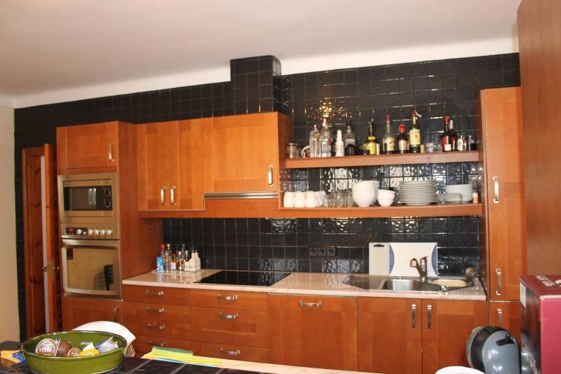 Location de vacances - Villa à Pau - cuisine ouverte