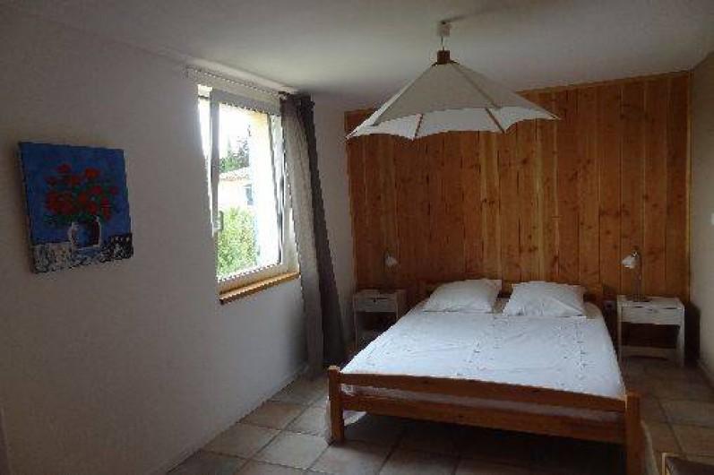 Location de vacances - Gîte à Vagnas - Chambre lit en 140