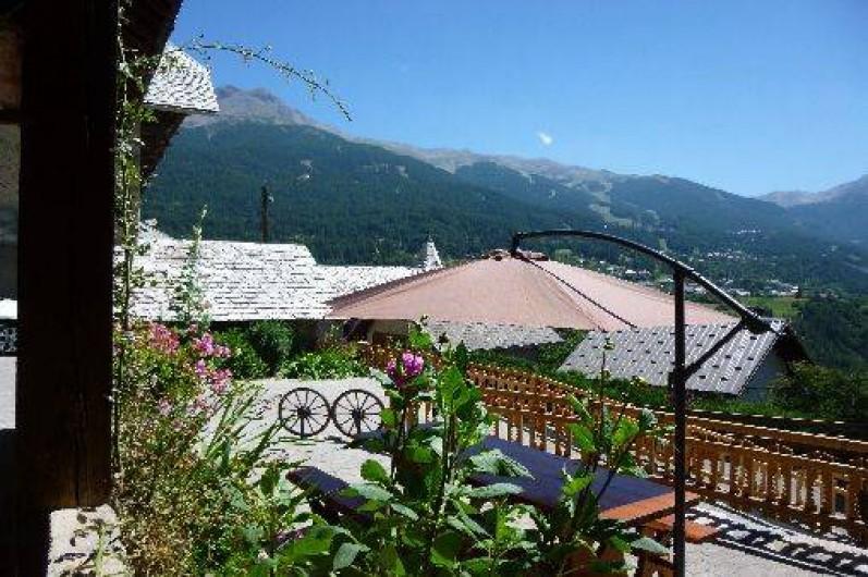 Location de vacances - Maison - Villa à Les Orres - Vue sur la montagne