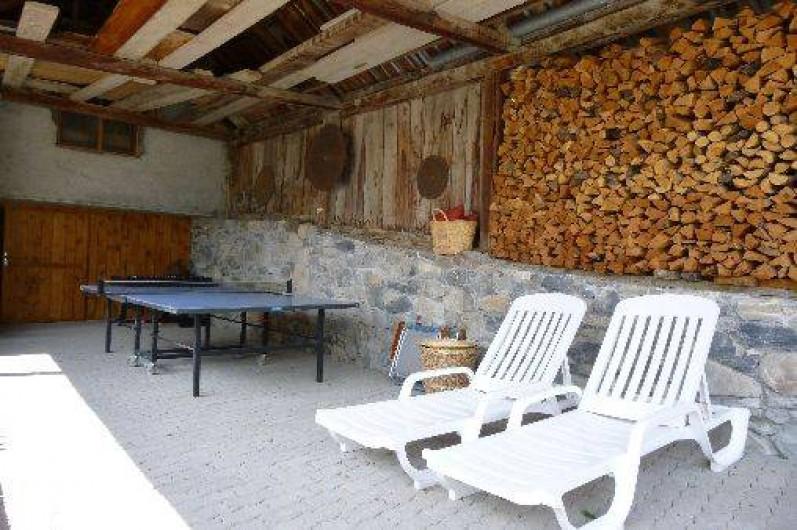 Location de vacances - Maison - Villa à Les Orres - L'espace abrité