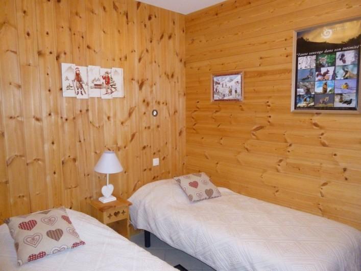 Location de vacances - Maison - Villa à Les Orres - Chambre Nord-Coin Montagne