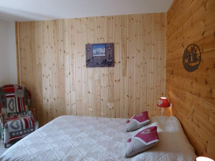 Location de vacances - Maison - Villa à Les Orres - Chambre sud