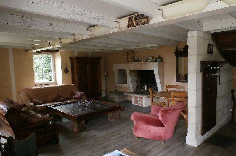 Location de vacances - Maison - Villa à Saint-Avit - Salon, 2 canapés, fauteuil