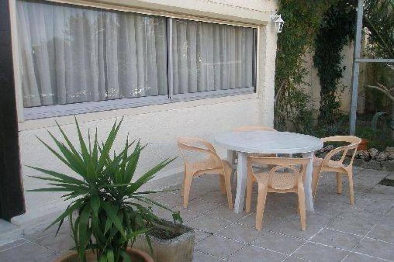 Location de vacances - Studio à Saint-Raphaël - TERRASSE
