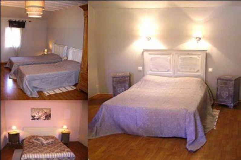 Location de vacances - Gîte à Neuville-sous-Montreuil - chambre du gite
