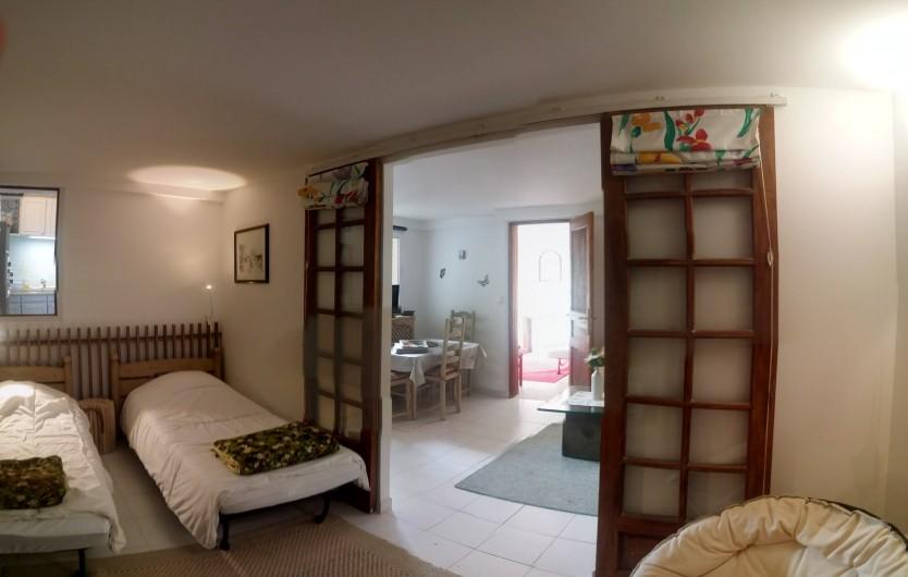 Location de vacances - Gîte à Crécy-la-Chapelle - chambre N°1