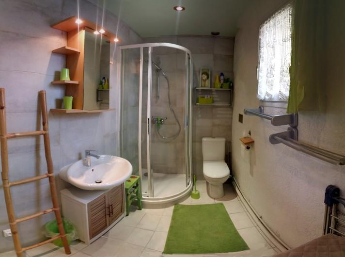 Location de vacances - Gîte à Crécy-la-Chapelle - séjour-chambre N°2