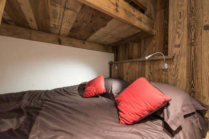 Location de vacances - Appartement à Val-d'Isère - Lit double dans la chambre