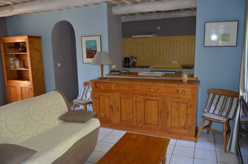 Location de vacances - Mas à L'Isle-sur-la-Sorgue - COIN SALON