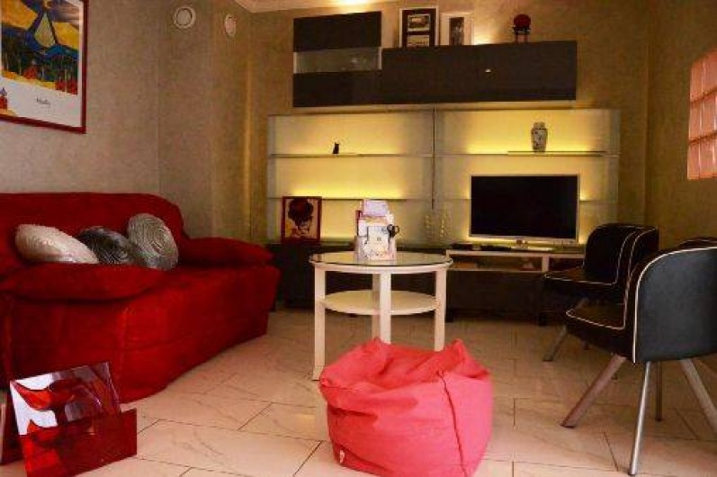 Location de vacances - Appartement à Troyes - Salon