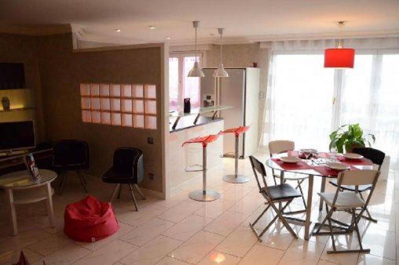 Location de vacances - Appartement à Troyes - Séjour