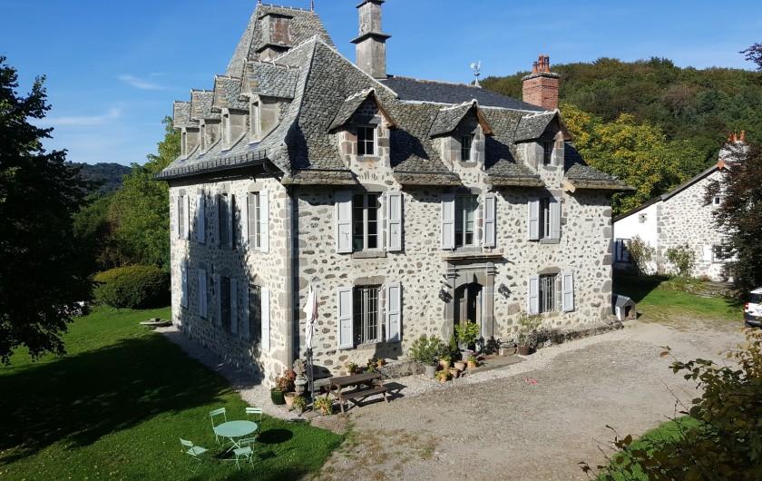 Location de vacances - Gîte à Aurillac - Le Chateau de Noalhac et le Fournil de Noalhac