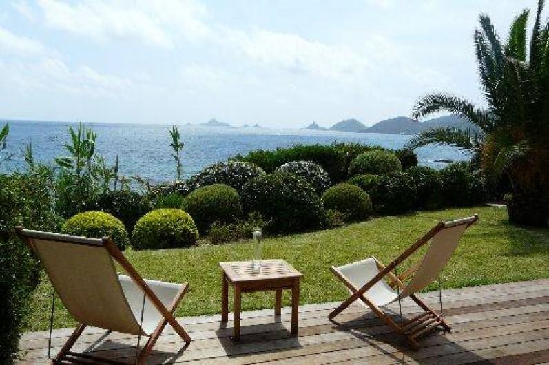 Location de vacances - Villa à Ajaccio - TERRASSE