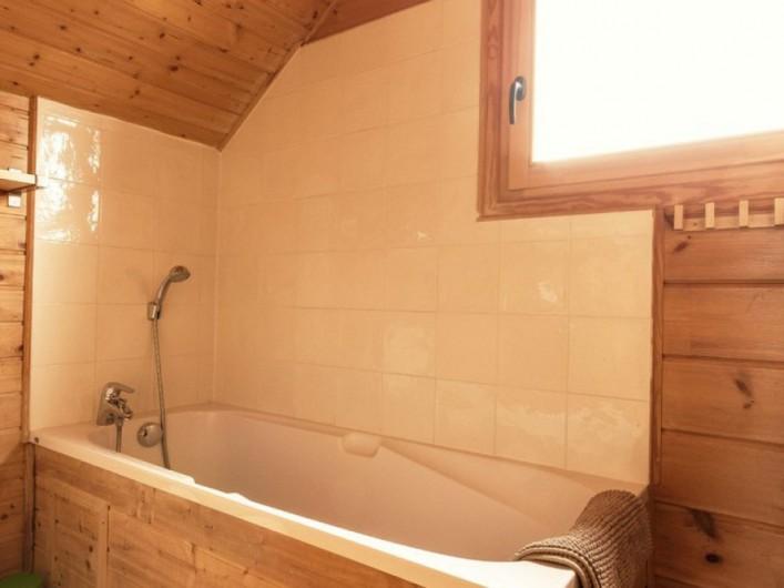 Location de vacances - Chalet à La Joue du Loup - Chalet Virginie - Salle de bain