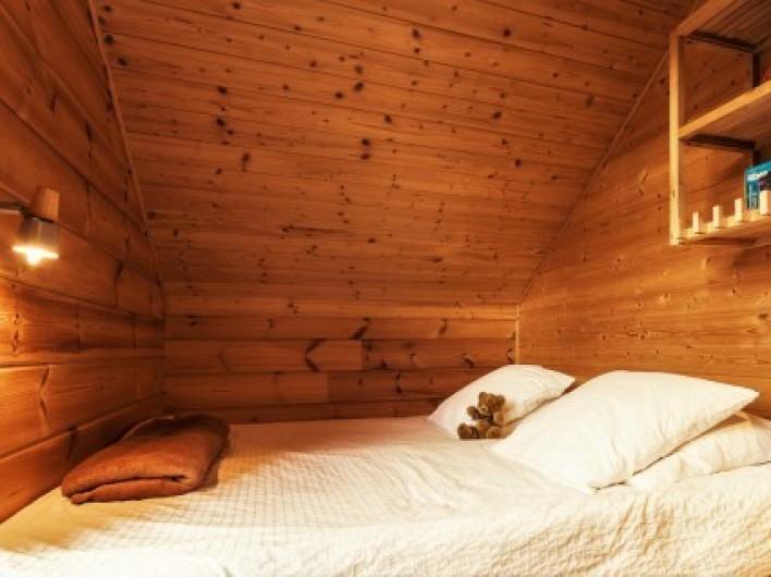 Location de vacances - Chalet à La Joue du Loup - Chalet Céline - Chambre 3, lit gigogne transformable en lit double