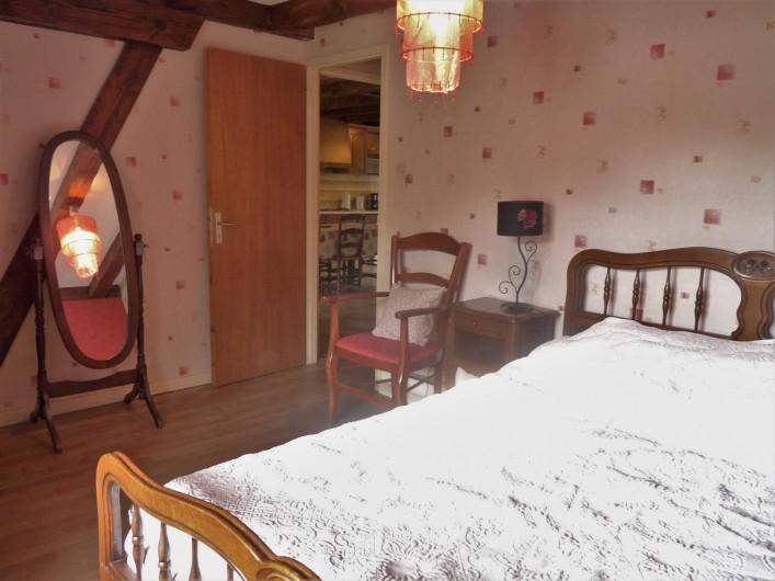 Location de vacances - Appartement à Ban-de-Laveline - chambre lit 140 moyen gite