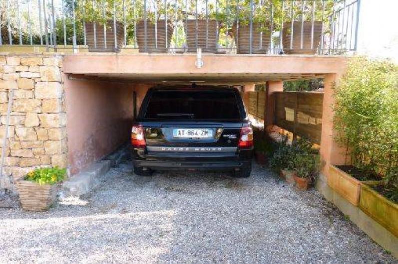 Location de vacances - Villa à Golfe-Juan - abris voitures