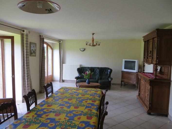Location de vacances - Gîte à Raucoules - Salle à manger